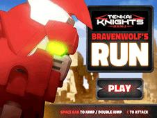 Tenkai Knights Bravenwolfs Run