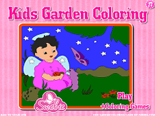 Play Kids Garden Coloring Game