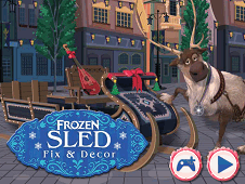 Frozen Sled Fix and Decor