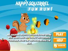 Happy Squirrel Fun Run