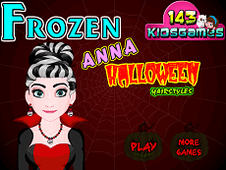 Frozen Anna Halloween Hairstyles