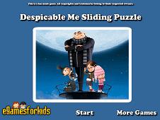 Despicable Me Sliding Puzzle