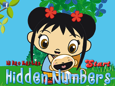 Kai Lan Hidden Numbers