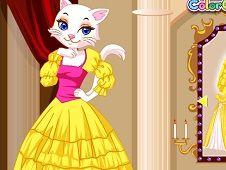 Adorable Cat Princess