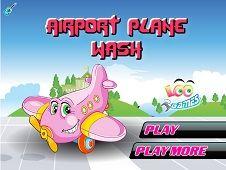 Airport Plane Wash