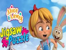 Alice and Lewis Jigsaw Puzzle