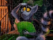 All Hail King Julien Puzzle