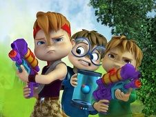 Alvin and the Ghostbusters