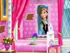 Princess Elsa Bedroom Cleaning Frozen Games
