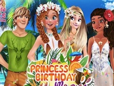 Anna Birthday in Hawaii