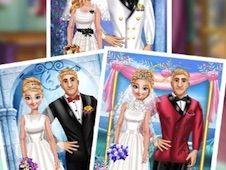 Anna and Kristoff Wedding Photo