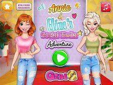 Annie and Eliza Social Media Adventure