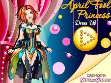 April Fools Princess Dress Up