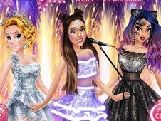 Ariana Pop Concert with Princesses