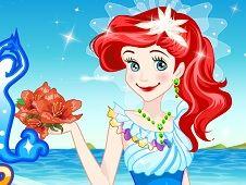 Ariel Wedding Dress Up