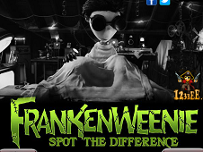 Frankenweenie Spot the Differences
