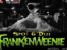 Frankenweenie Spot the 6 Differences