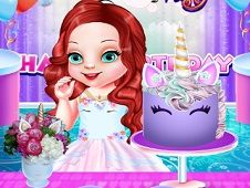 Baby Ariel Unicorn Birthday Party