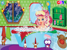 Baby Boo Christmas Bath
