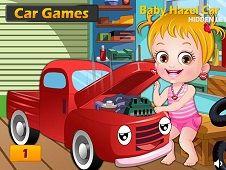 Baby Hazel Car Hidden Letters