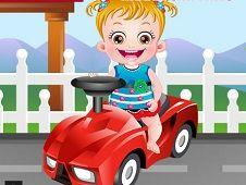 Baby Hazel Hidden Car Tires