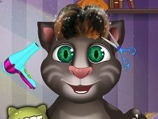 Baby Talking Tom Hair Salon