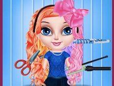 Baby Elsa Hairstyle Design