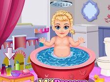 Baby Sophia Princess Anna Makeover