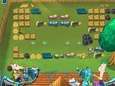 Phineas and Ferb Backyard Defense