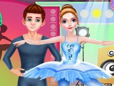 Ballerina Dancer Beauty Salon