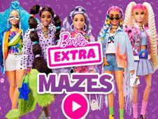 Barbie Extra Mazes