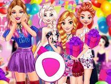 Barbie Surprise Birthday Party