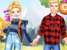 Barbie Hiking Date