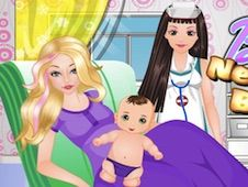Barbie New Born Baby