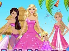 Barbie Princesses Dress Up