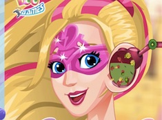Barbie Superhero Ear Problems