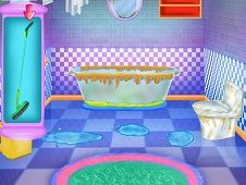 Bathroom Clean and Deco