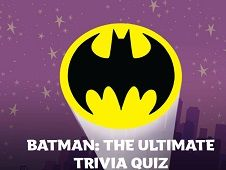Batman : The Ultimate Trivia Quiz