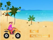 Beach Girl ATV Race