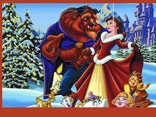 Beauty and the Beast Christmas Jigsaw