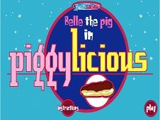 Belle the Pig in Piggylicious