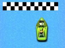 Ben 10 Boat Racing