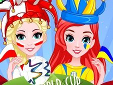 BFF World Cup Face Painting