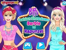 BFFs Fashion Showdown Barbie and Rapunzel