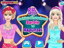 BFFs Fashion Showdown Barbie and Rapunzel