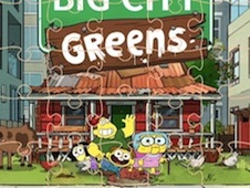 Big City Greens Puzzle Mania
