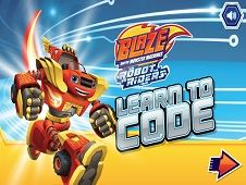 Blaze and the Monster Machines Robot Riders Leanr to Code