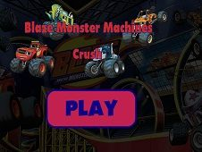 Blaze and the Monster Machines Crush