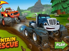 Blaze and the Monster Machines Mud Mountain Rescue