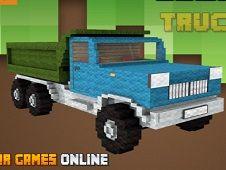 Blockcraft Truck Jigsaw